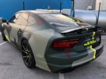 Audi A7 Performance Folierung camouflage Tuning 24 155x116 Neuer Look 2019   Audi A7 Performance von BB Folien