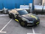 Audi A7 Performance Folierung camouflage Tuning 25 155x116 Neuer Look 2019   Audi A7 Performance von BB Folien