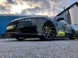 Audi A7 Performance Folierung camouflage Tuning 30 155x116 Neuer Look 2019   Audi A7 Performance von BB Folien