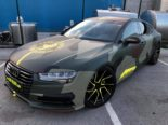 Audi A7 Performance Folierung camouflage Tuning 32 155x116 Neuer Look 2019   Audi A7 Performance von BB Folien