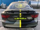 Audi A7 Performance Folierung camouflage Tuning 34 155x116 Neuer Look 2019   Audi A7 Performance von BB Folien