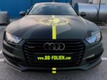 Audi A7 Performance Folierung camouflage Tuning 35 155x116 Neuer Look 2019   Audi A7 Performance von BB Folien