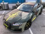 Audi A7 Performance Folierung camouflage Tuning 4 155x116 Neuer Look 2019   Audi A7 Performance von BB Folien