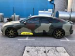 Audi A7 Performance Folierung camouflage Tuning 6 155x116 Neuer Look 2019   Audi A7 Performance von BB Folien