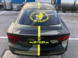Audi A7 Performance Folierung camouflage Tuning 9 155x116 Neuer Look 2019   Audi A7 Performance von BB Folien