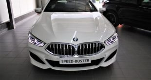 BMW 840d G14 Speed Buster Chiptuning 4 310x165 BMW 840d (G14) mit 365 PS & 763 NM dank Speed Buster