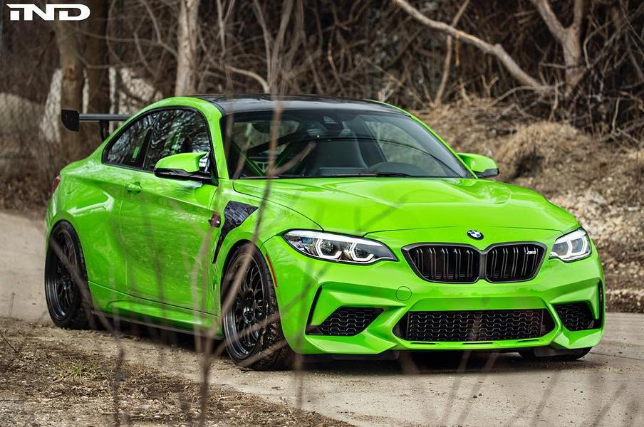 BMW M2 Competition Front iND Distribution M2 F87 Tuning 2 BMW M2 Competition Front am iND Distribution M2 (F87)