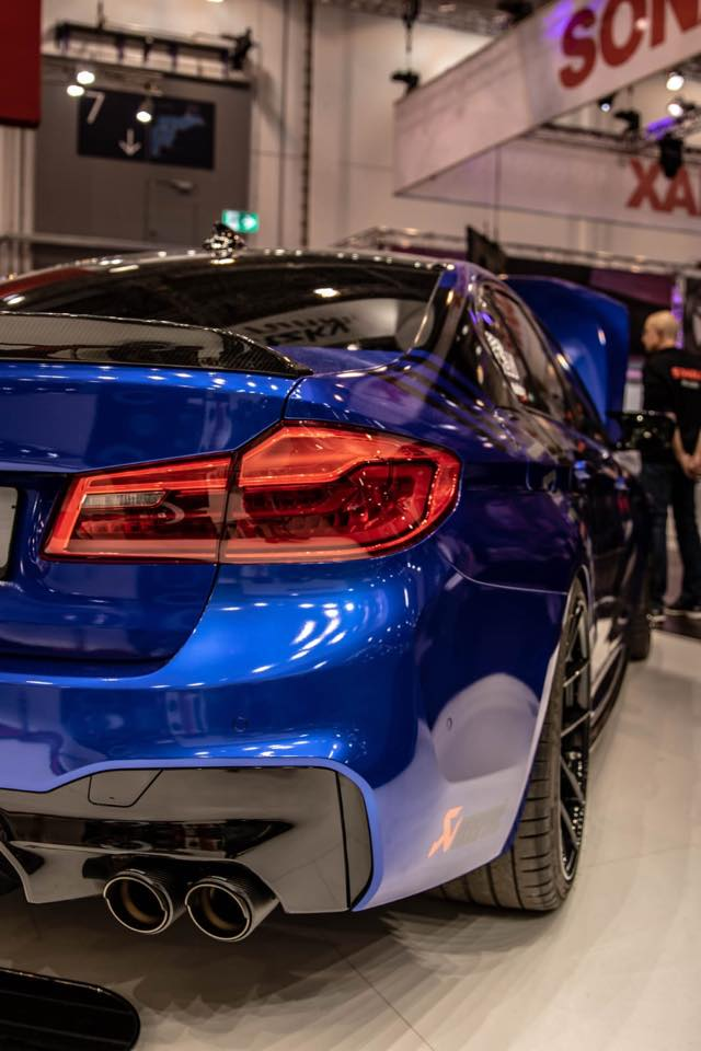 BMW M5 F90 Competition Aulitzky Tuning 2 835 PS BMW M5 F90 Competition von Aulitzky Tuning