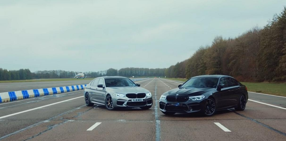 BMW M5 F90 Competition DMS Tuning Video: Tuning vs. Serie   BMW M5 F90 Competition von DMS