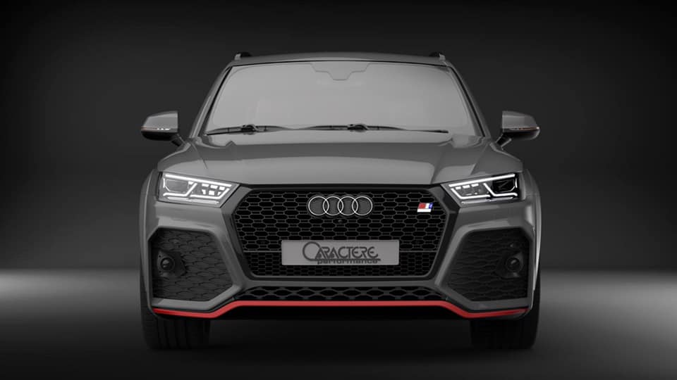 Caractere Exclusive Widebody Audi Q5 80A Tuning 1 Gelungen   Caractere Exclusive Widebody Audi Q5 (80A)