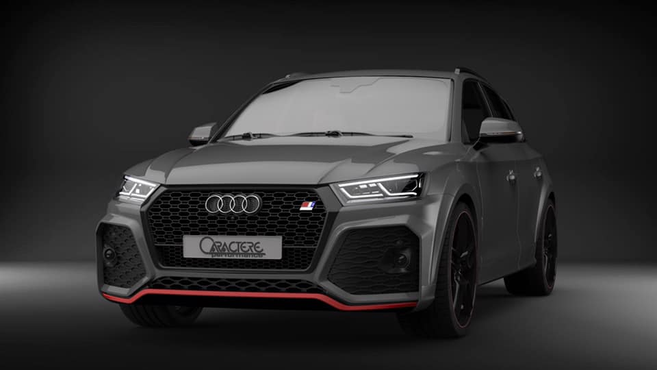 Caractere Exclusive Widebody Audi Q5 80A Tuning 5 Gelungen   Caractere Exclusive Widebody Audi Q5 (80A)