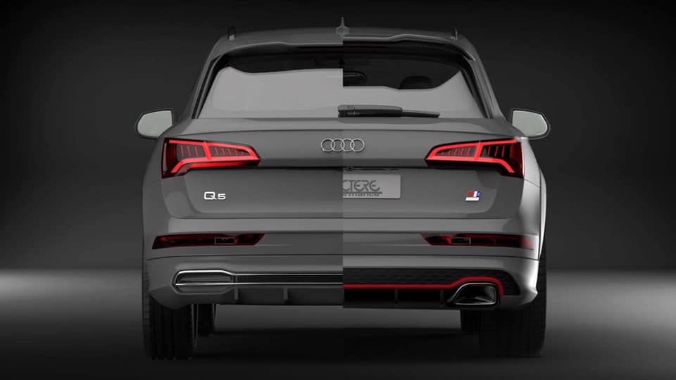 Caractere Exclusive Widebody Audi Q5 80A Tuning 7 Gelungen   Caractere Exclusive Widebody Audi Q5 (80A)