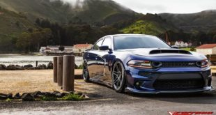 Dodge Charger ScatPack 392 Ferrada FR6 Airride Tuning slider 310x165 Drag Monster   Dodge Charger Hellcat auf WELD Wheels