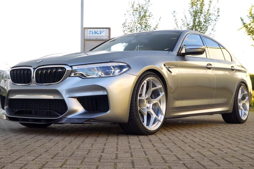 Evolve BMW M5 F90 6Sixty Crypto Chiptuning Supersprint 1 Video: Evolve Stage 2 BMW M5 F90 Limo fährt 321 km/h