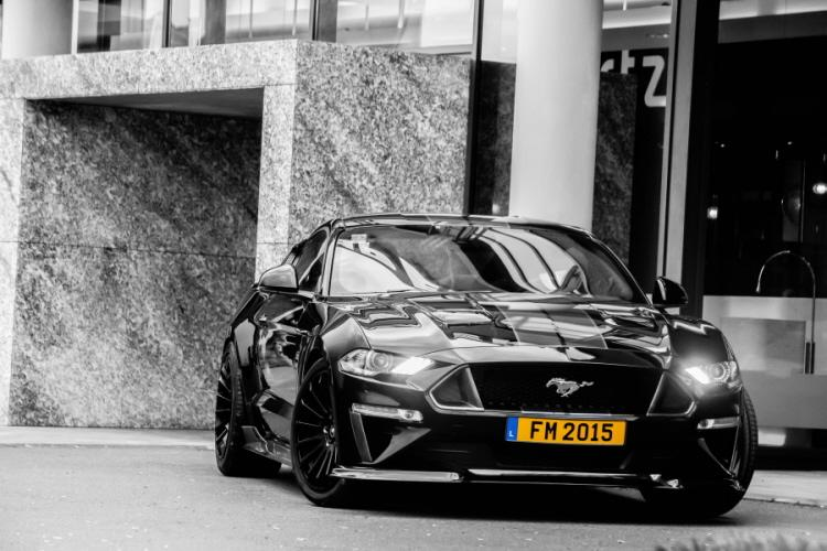 Ford Mustang GT Tuning 2019 ABBES Design 26 Mit ABBES Tuning dem Auto das perfekte Tuning verpassen