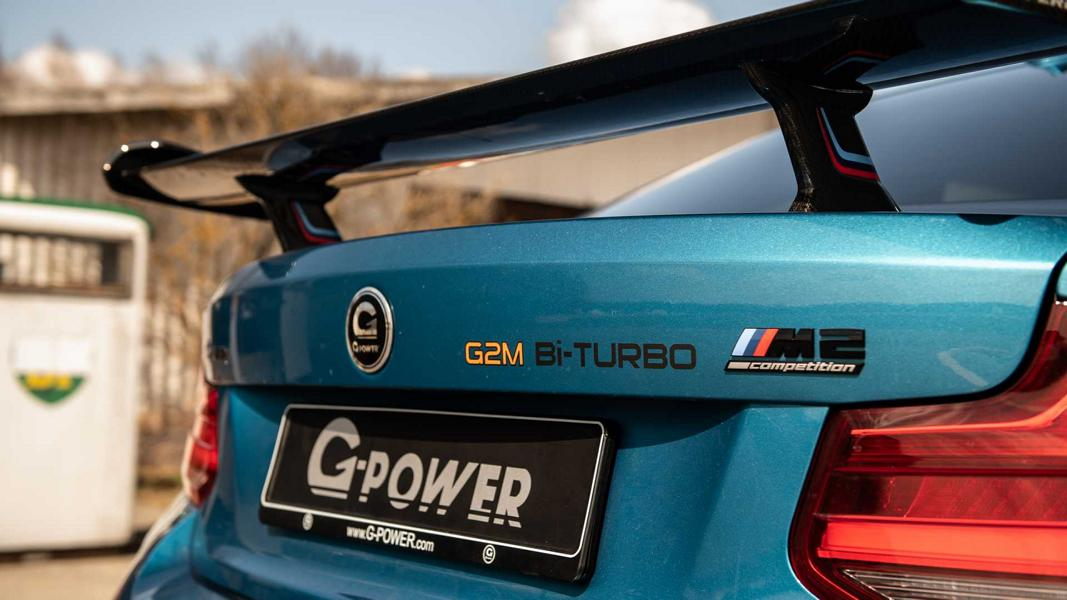 G Power BMW M2 Competition G2M BiTurbo F87 Tuning 3 680 PS G Power BMW M2 Competition als G2M BiTurbo