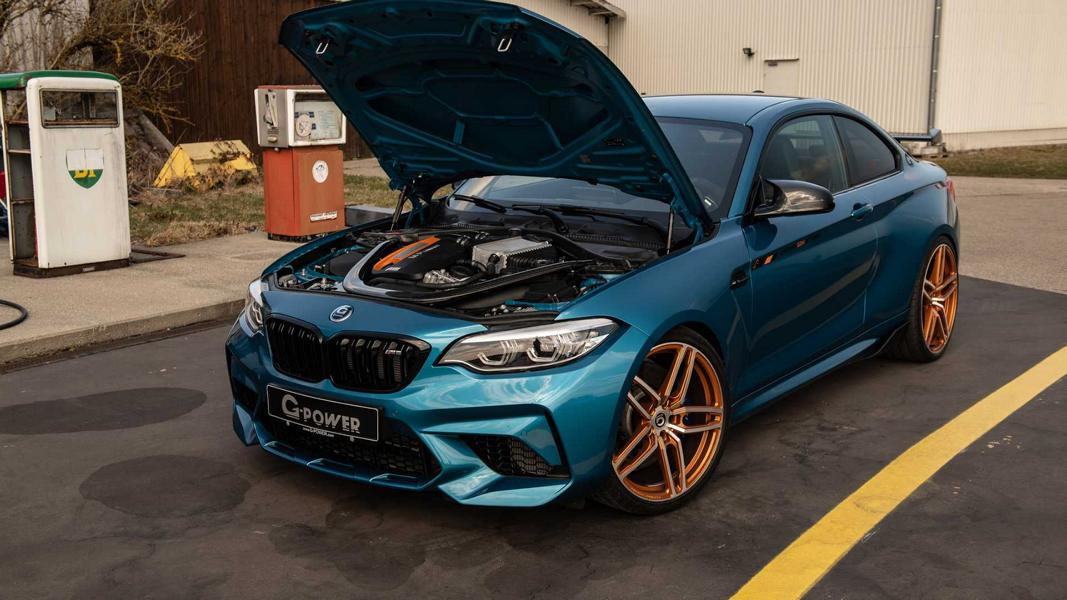 G Power BMW M2 Competition G2M BiTurbo F87 Tuning 8 680 PS G Power BMW M2 Competition als G2M BiTurbo