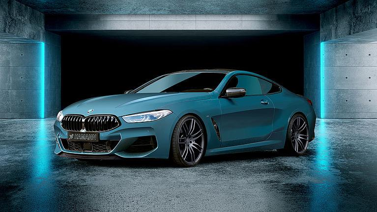 Hamann Motorsport BMW 8er Coupe G15 Convertible G14 Tuning Preview: 21 Inch Hamann Wheel on BMW 8er Coupe (G15)