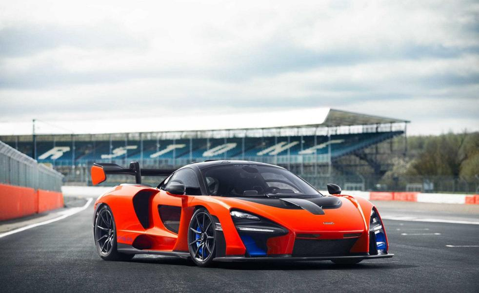 Funky: Hennessey Performance McLaren Senna with + 1000 PS
