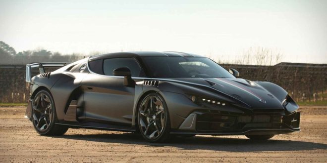 610 PS Italdesign Zerouno Coupe und Duerta Roadster