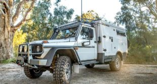 Mercedes G Klasse Earthcruiser Escape Outback Tuning 7 310x165 Upgrade 3: Lord Hans Mercedes G 500 4x4² wieder mit Dach!