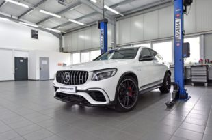 Mercedes GLC 63 AMG Chiptuning CTRS Speed Buster 310x205 Mercedes GLC 63 AMG mit 618 PS Dank CTRS Power