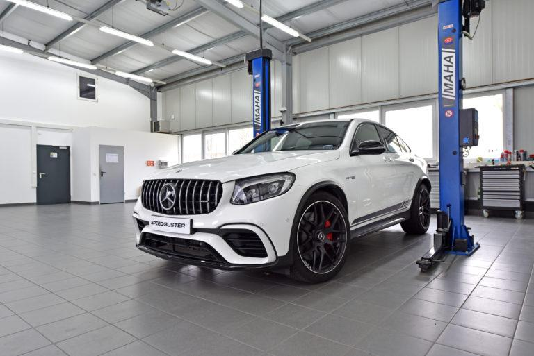 Mercedes GLC 63 AMG Chiptuning CTRS Speed Buster Mercedes GLC 63 AMG mit 618 PS Dank CTRS Power