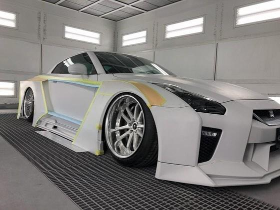 Nissan GT R Widebody 2020 Kuhl racing Tuning 1 Vorschau: Nissan GT R Widebody Projekt 2020 by Kuhl racing