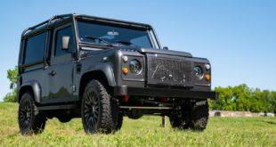 Project Grey Goose V8 Land Rover Defender tuning 1. 310x165 Military style: Land Rover Defender 110 von ECD Automotive
