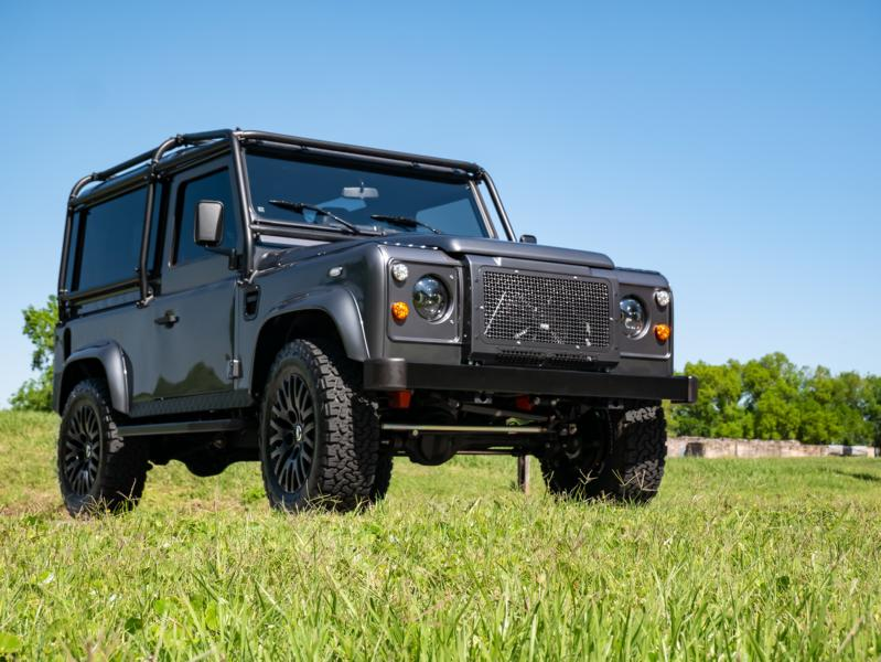 Project Grey Goose V8 Land Rover Defender tuning 1 Project Grey Goose V8 Land Rover Defender mit 430 PS