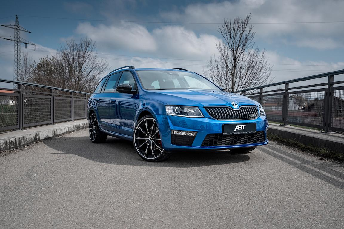 Skoda Octavia Rs With 290 Ps Thanks To The Abt Sportsline Gmbh