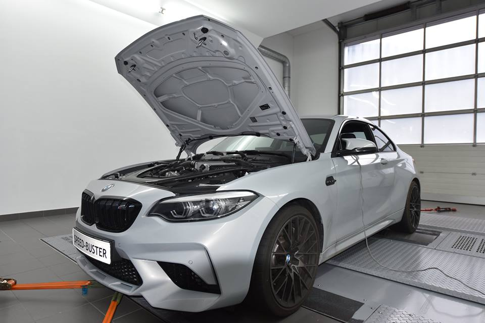 Speed Buster BMW M2 Competition F87N Chiptuning 6 Speed Buster BMW M2 Competition (F87N) mit 513 PS