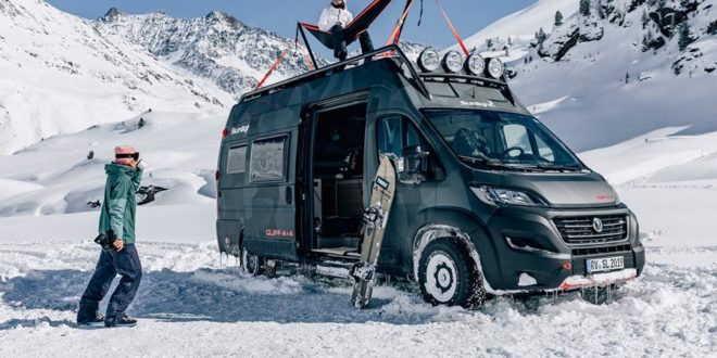 Sunlight Fiat Ducato Cliff 4×4 Adventure Van Concept Car