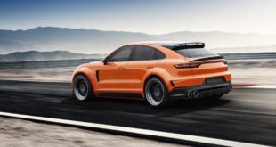 TOPCAR Widebody Porsche Cayenne Coupe2 310x165 Inferno light: TopCar Mercedes G Klasse IV (W463A) Bodykit