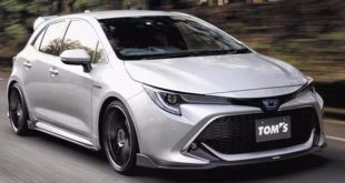 Toyota Corolla Hybrid Tuning TOMS 2019 1 310x165 Toyota Corolla Hybrid mit Tuning – Hybrid mal ganz anders interpretiert.
