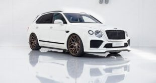 Urban Automotive Bentley Bentayga Tuning Bodykit 15 310x165 Rekord gebrochen: Pikes Peak 2019 Bentley Continental GT