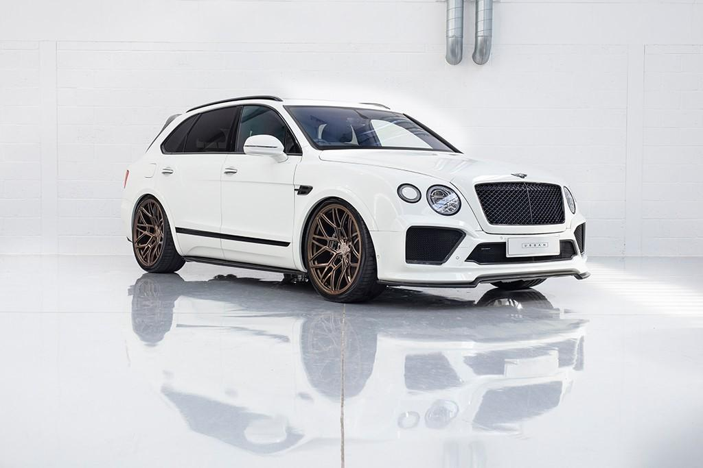 Urban Automotive Bentley Bentayga Tuning Bodykit 15 Urban Automotive Bentley Bentayga Widebody auf 24 Zöllern
