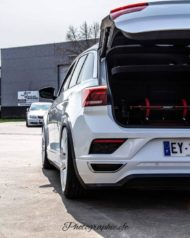 VW T Roc Airride Bentley Felgen Tuning 9 190x238 Air Roc: VW T Roc mit Airride Fahrwerk & Bentley Felgen