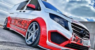 Vito PlanC Widebody Mercedes V Class W447 Ferrada FR3 Tuning 1 1 e1556608542142 310x165 Mercedes Benz Vito as a rolling luxury suite with AMG grill!