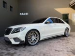 W222 Mercedes S65L AMG Brabus Tuning Bodykit 11 155x116 Mercedes S65L AMG mit Brabus Parts von RACE! South Africa