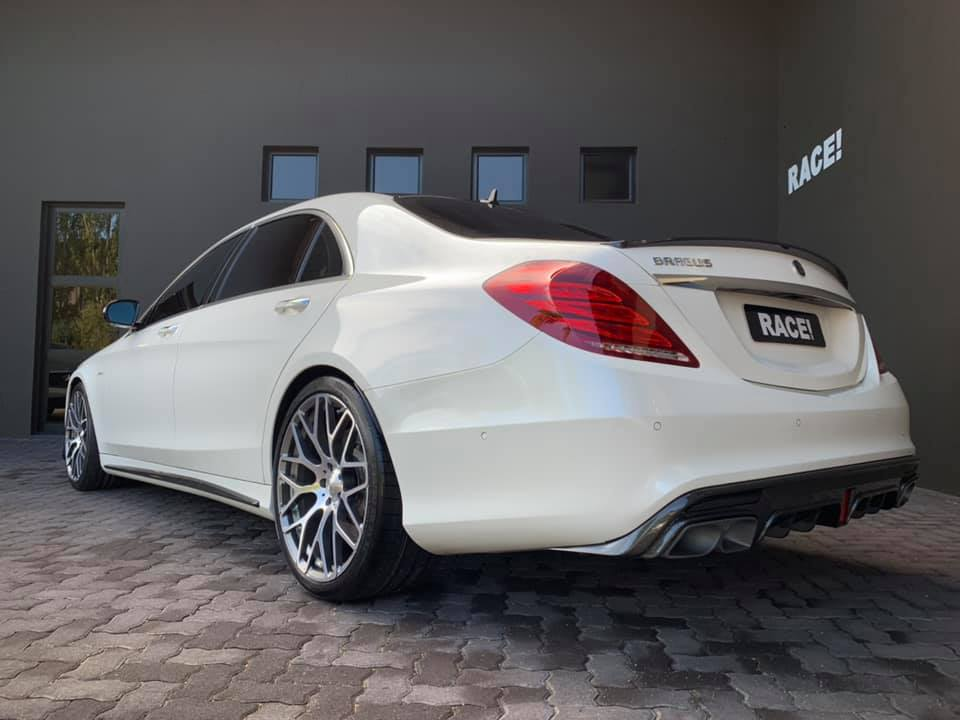 W222 Mercedes S65L AMG Brabus Tuning Bodykit 6 Mercedes S65L AMG mit Brabus Parts von RACE! South Africa