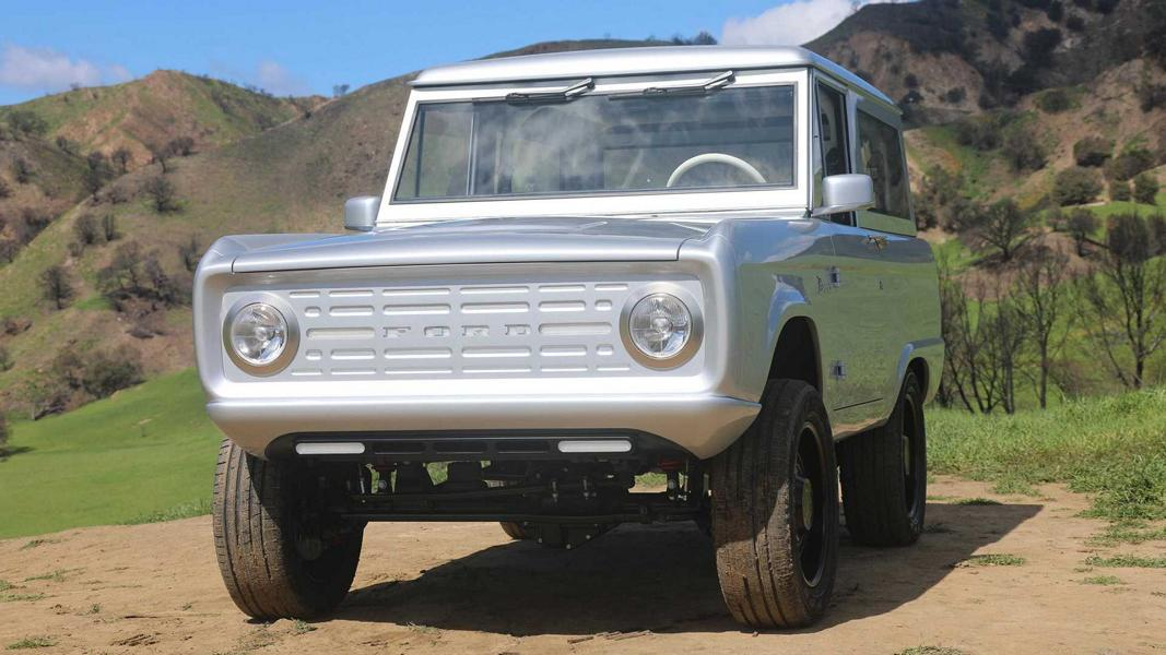 Zero Labs Automotive Ford Bronco Restomod Tuning 2 Unter Strom! Carbon Ford Bronco Restomod mit E Antrieb
