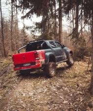 delta4x4 VW Amarok Beast Widebody Tuning 16 190x227 Über Stock und Stein   delta4x4 VW Amarok Widebody