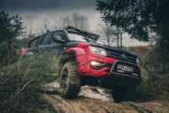 delta4x4 VW Amarok Beast Widebody Tuning 2 190x127 Über Stock und Stein   delta4x4 VW Amarok Widebody