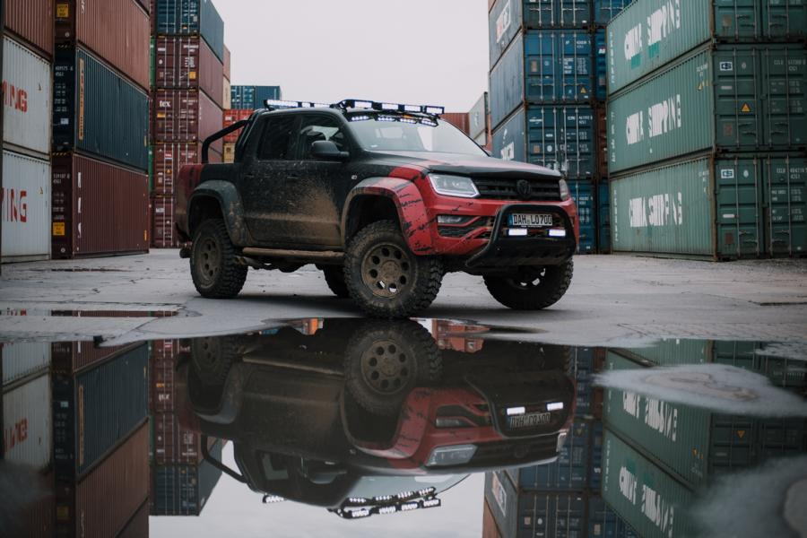 delta4x4 VW Amarok Beast Widebody Tuning 3 Über Stock und Stein   delta4x4 VW Amarok Widebody