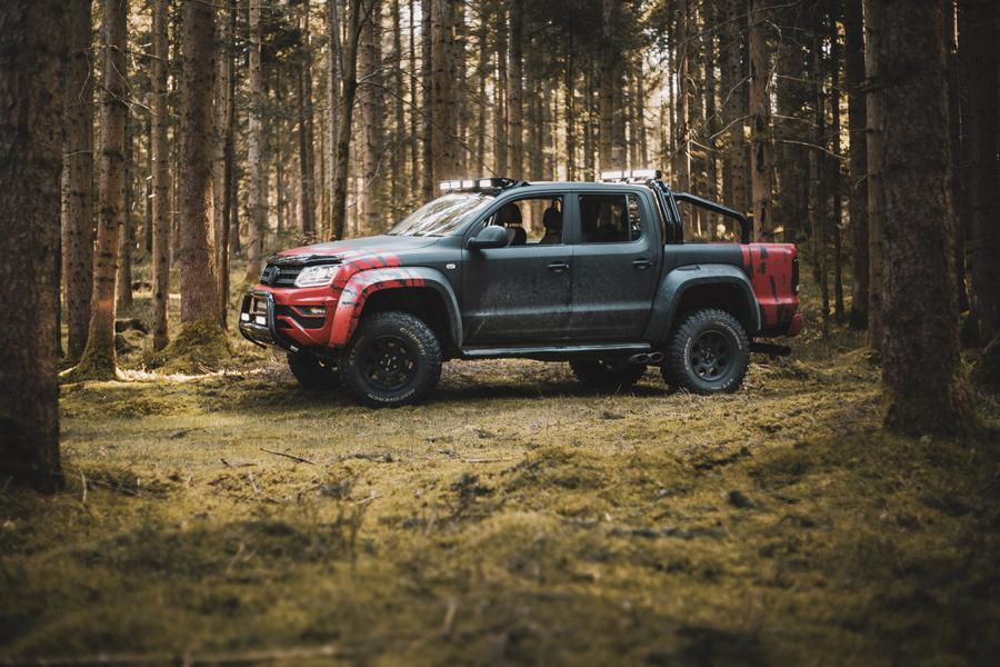delta4x4 VW Amarok Beast Widebody Tuning 7 Über Stock und Stein   delta4x4 VW Amarok Widebody