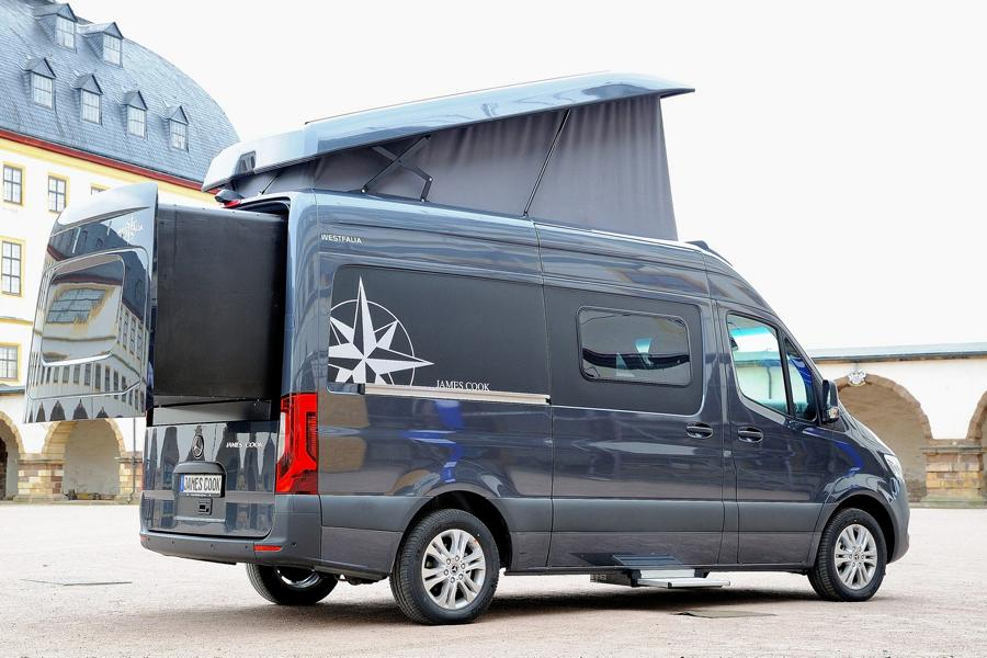 2019 Westfalia James Cook Mercedes Sprinter Camper Tuning 8 Von Low bis High Budget der Umbau zum Camper!