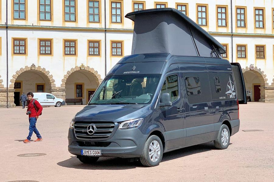 Mercedes Sprinter Rv >> Top Model 2019 Westfalia James Cook Mercedes Camper