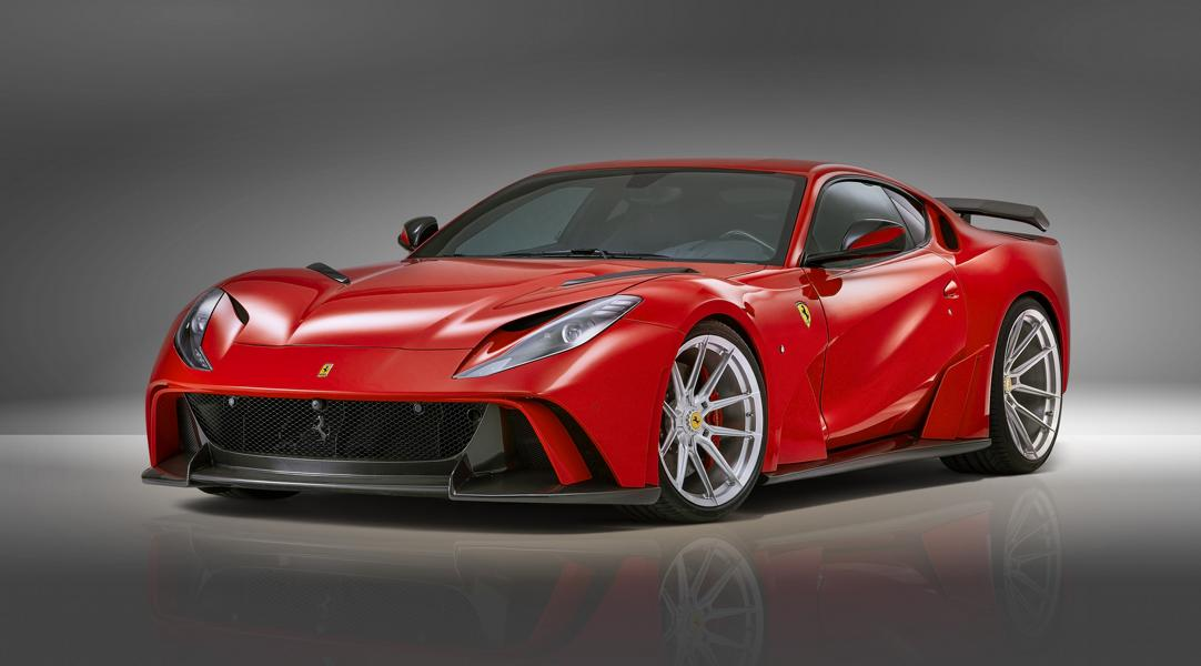 2019 Widebody Ferrari 812 Superfast Tuning Novitec 3 2019 Widebody Ferrari 812 Superfast vom Tuner Novitec