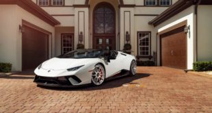 ADV.1 Wheels Lamborghini Huracan Spyder Performante Tuning 8 310x165 Army Lamborghini Huracán Performante auf ADV.1 Wheels